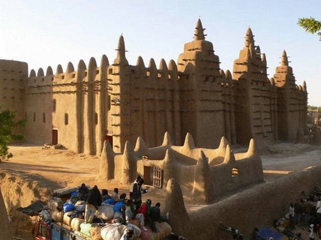 Djenne Mosque 004 - Mosque of Djenne !!!!