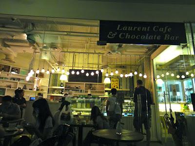 Laurent Cafe & Chocolate Bar Robertson Quay Singapore