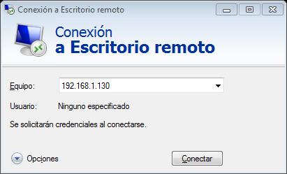 Experimentando con raspberry pi acceso remoto a la raspberry pi - Conexion a escritorio remoto windows xp ...