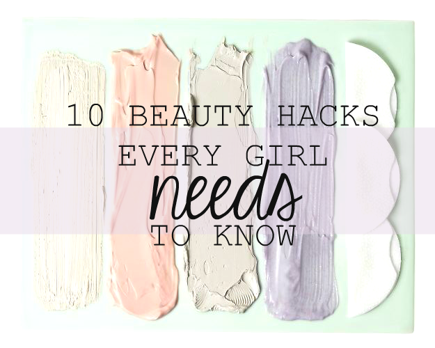 beauty, makeup, hacks, tricks, tips, vaseline, useful, beauty hacks every girl needs to know, advice,