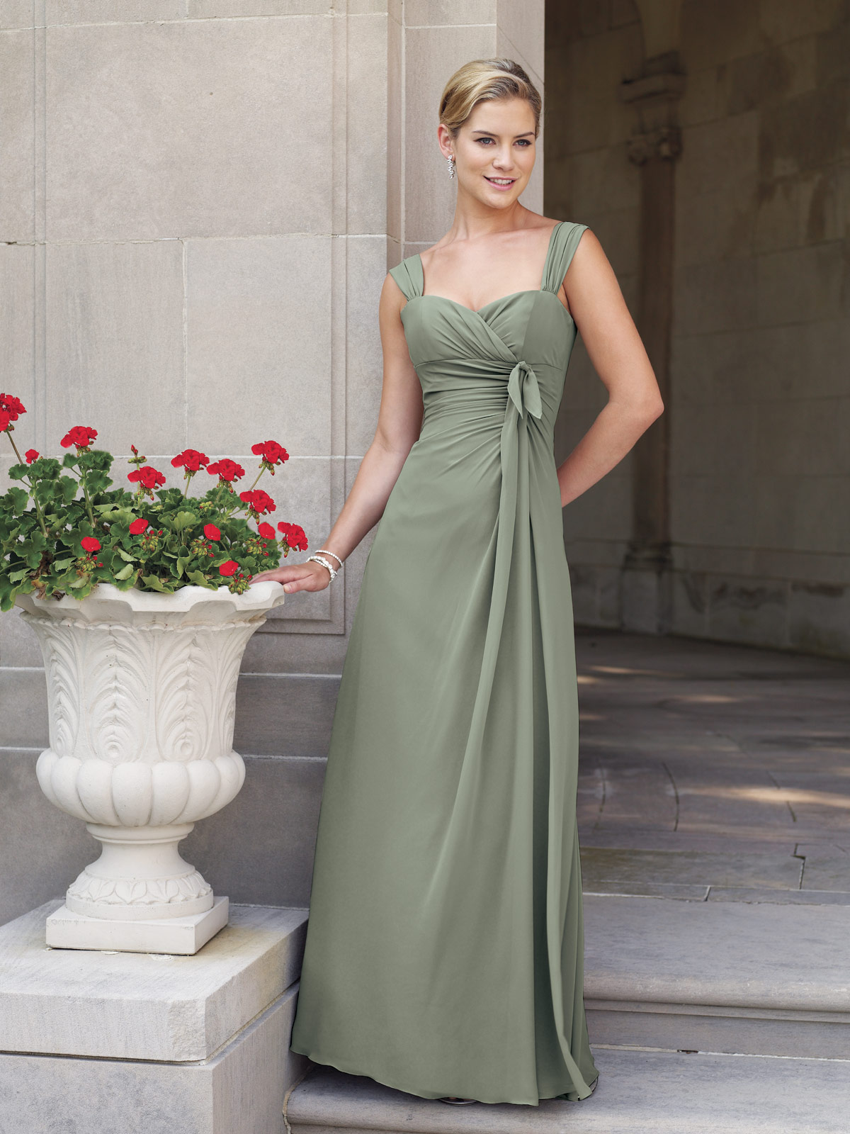 short prom dresses: Sophia Tolli 2012 Bridesmaids Collection