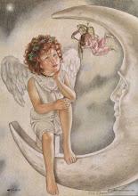 RECORTABLES DE ANGELITOS YDIBUJOS PARA COLOREAR