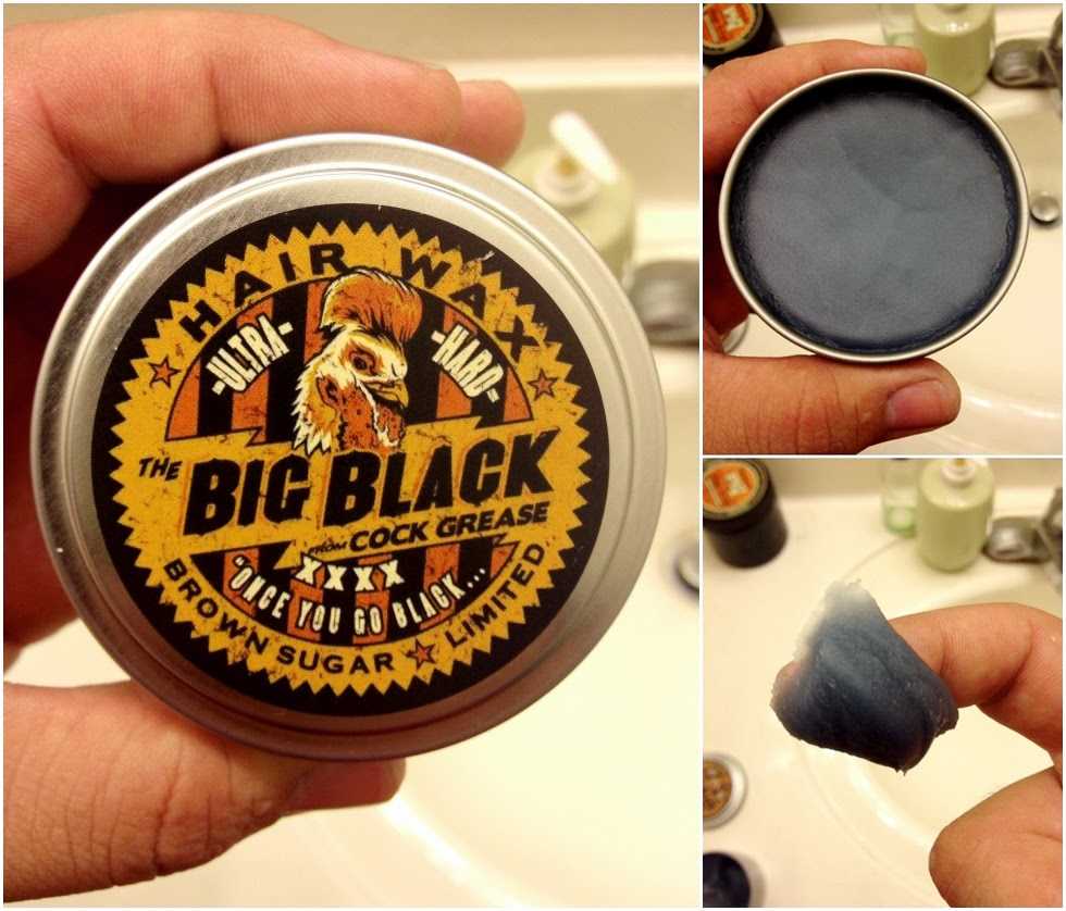 Big Black Cock Grease XXXX - Super Strong Hold Pomade - Oil Based