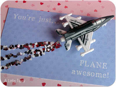 Toy Airplane on You're Just Plane awesome Valentine for Kids