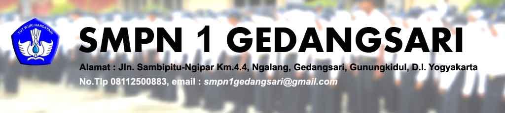 SMP N 1 GEDANGSARI