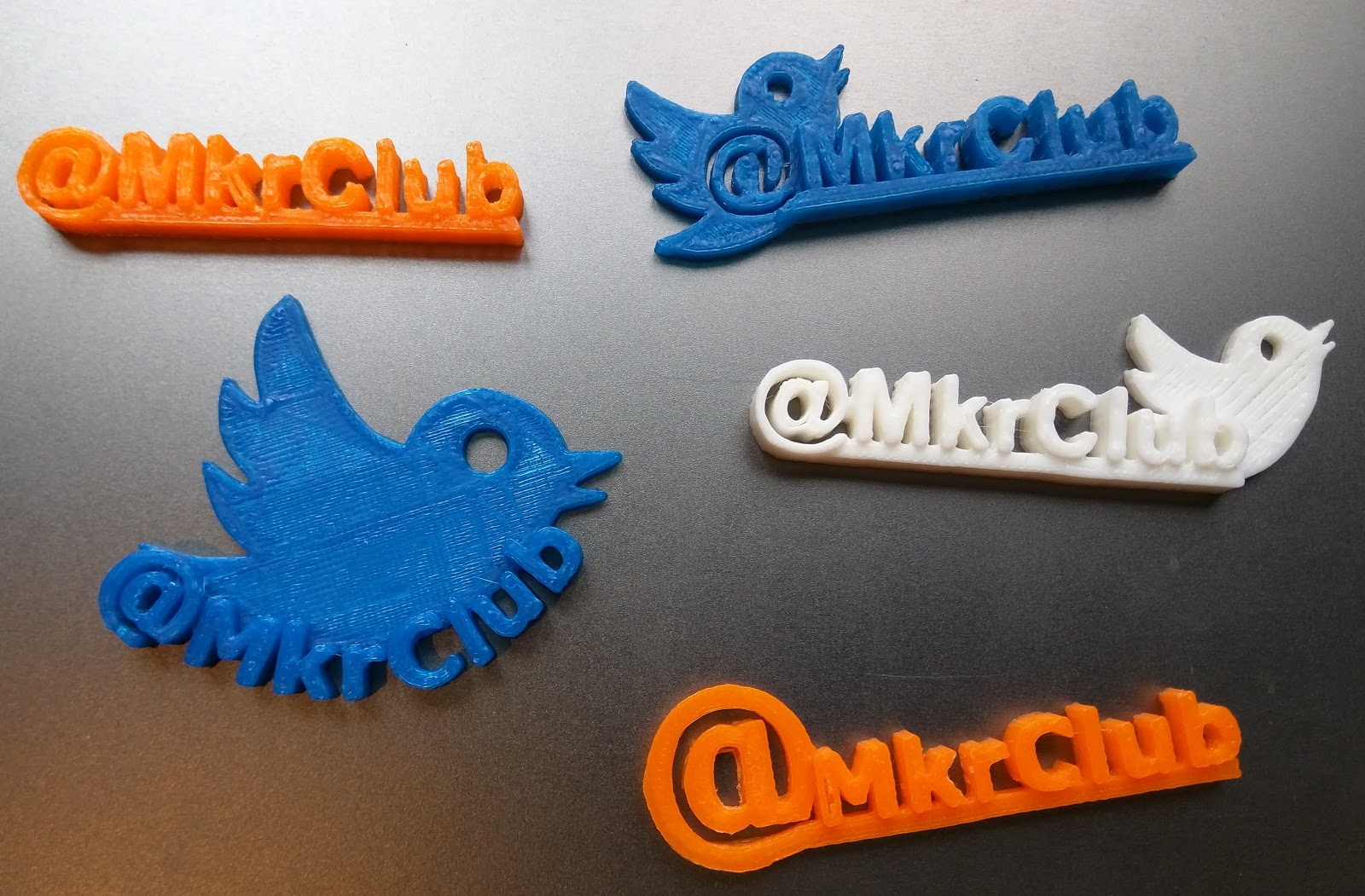 Uncategorized Printed Names maker club 5 name tag designs for 3d printing printing
