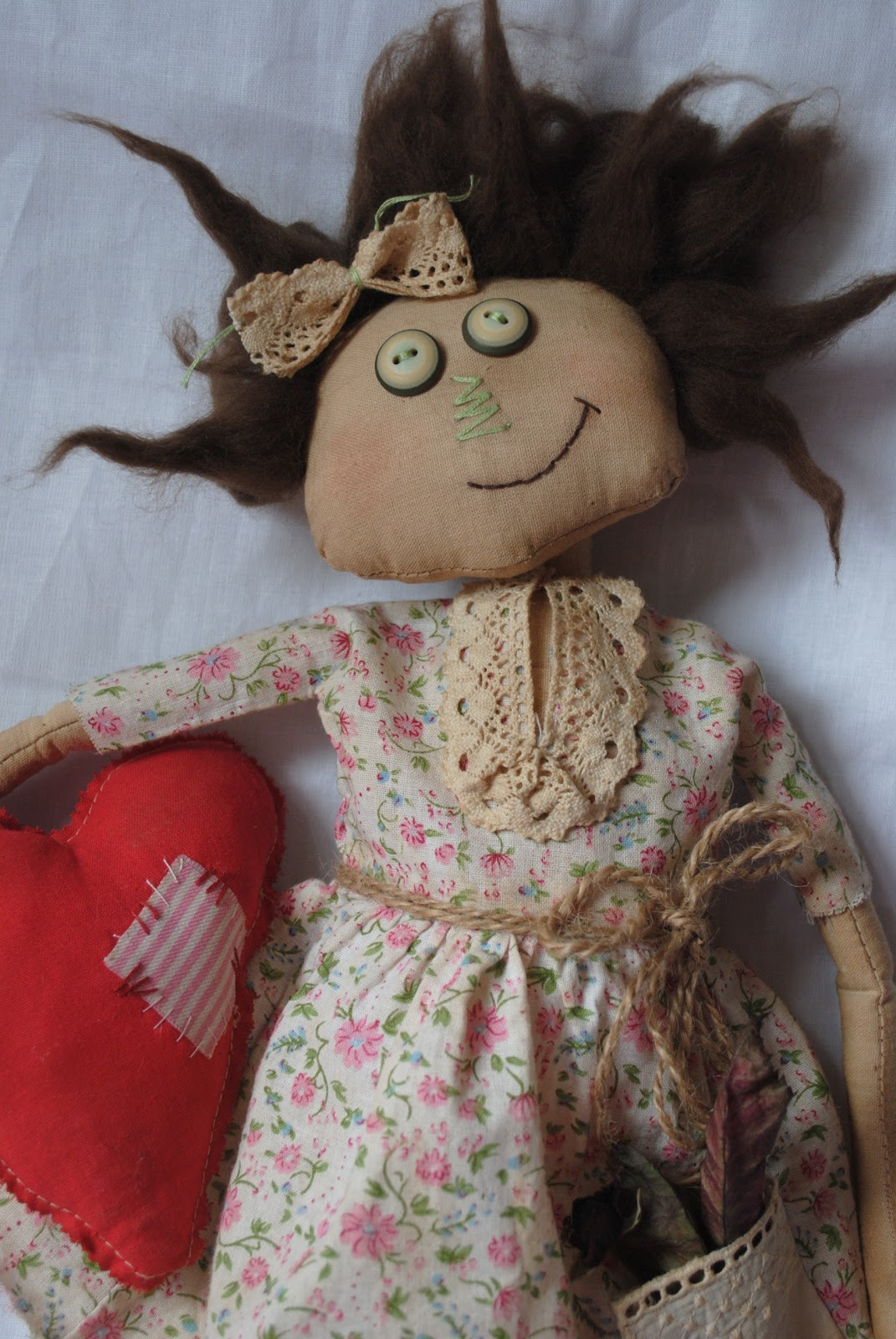 Кукол из ткани своими руками мастер класс