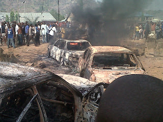 Breaking News..Blast shatters Taraba finance ministry building