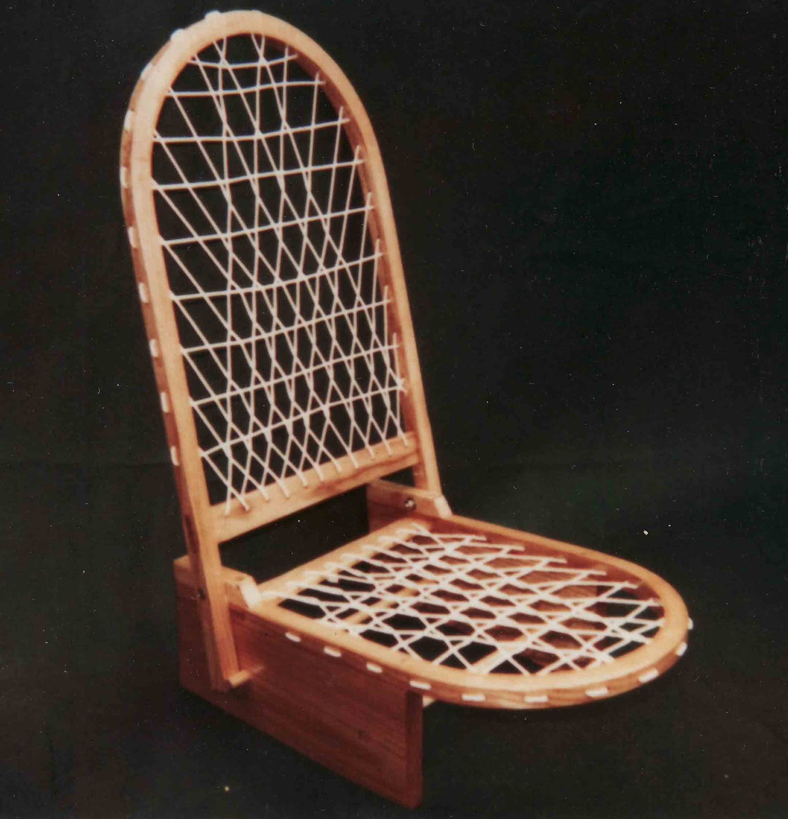 ... A Sno Shu Chair By Native Designs (aka Reginald Lee) Based Out Of  Westport Island, Maine. I Am A Real Sucker For Traditional Snowshoes And  Thus, ...