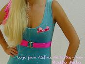 Logo disfraz Barbie