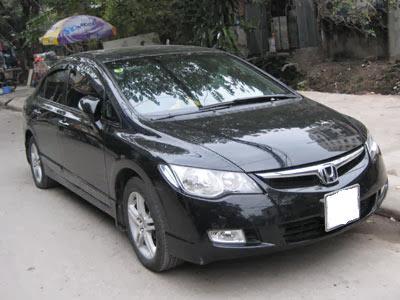 Cho thuê xe 4 chỗ tại Hà Nội