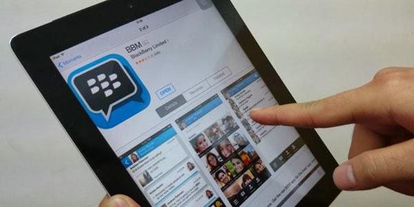 BBM on iPad
