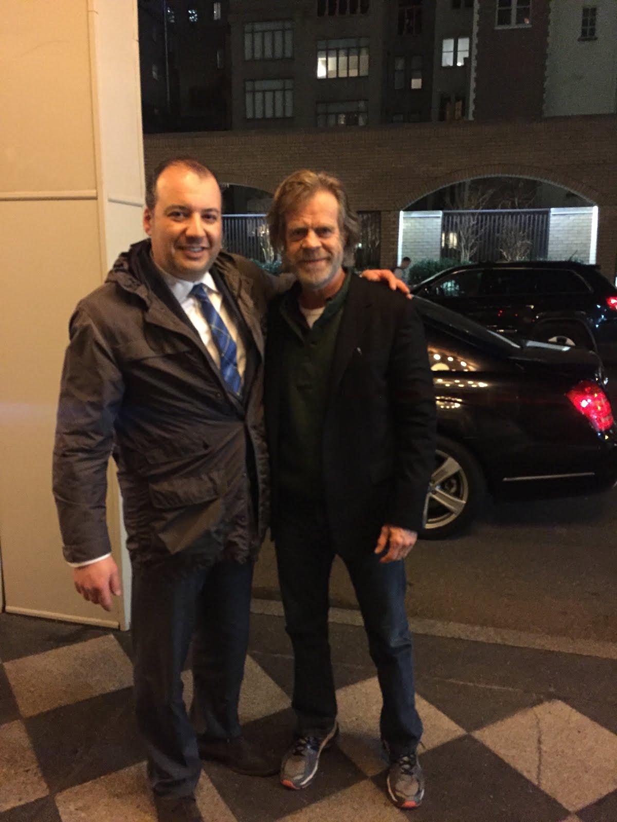 Danya Polykov, William H. Macy, 03.2016, New-York