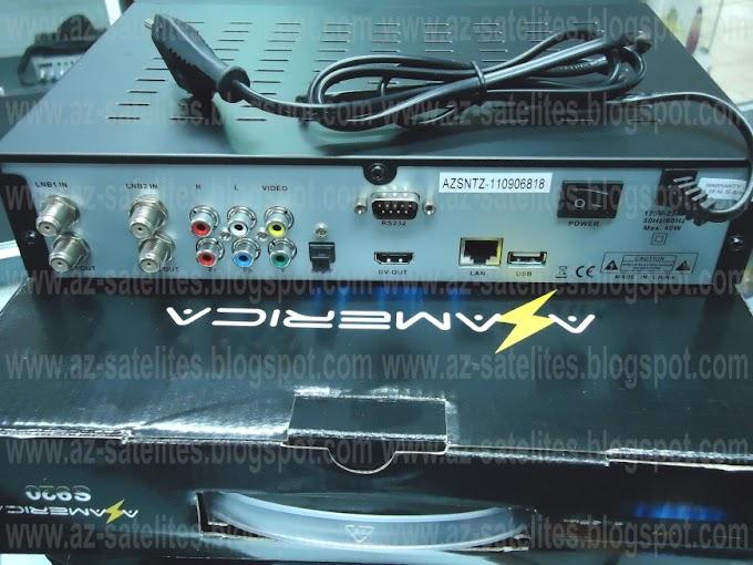 AZ-AMERICA S920 - ARQUIVOS DE ATUALIZAÇÃO