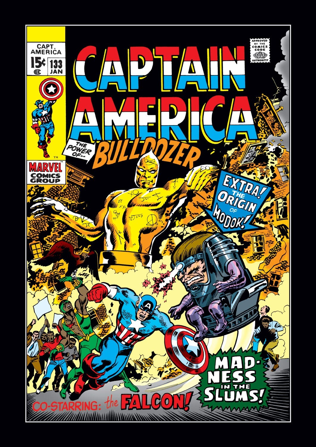 Captain America (1968) Issue #133 #47 - English 1