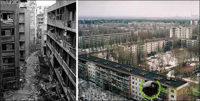 Prypiat, Ukraina Utara