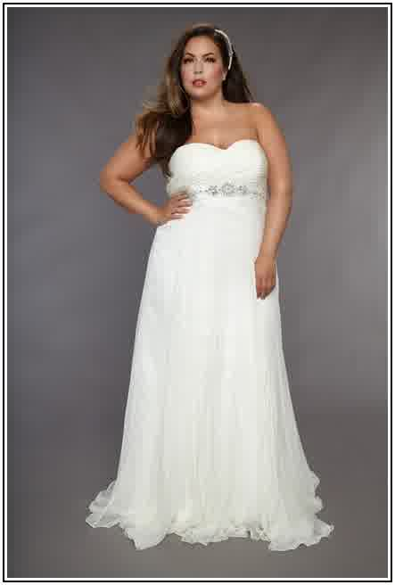 traditional ivory plus size for wedding gowns 2016