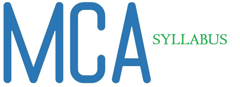 syllabus of mca-mca-syllabus