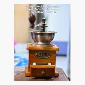Gilingan Kopi Tangan Klasik / Classic Coffe Grinder Manual - Kode Barang : A0008