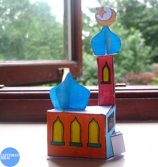 mosque craft template project