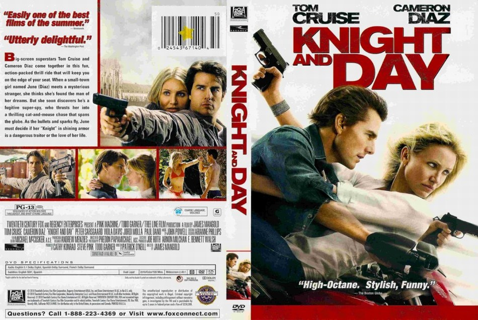 moviescreenshots knight and day 2010 dvd cover