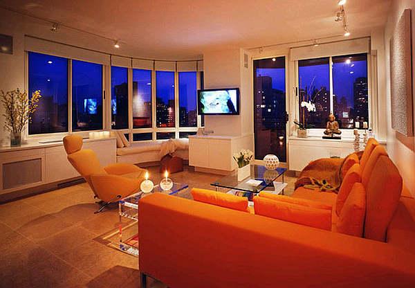 living room design orange living room design ideas