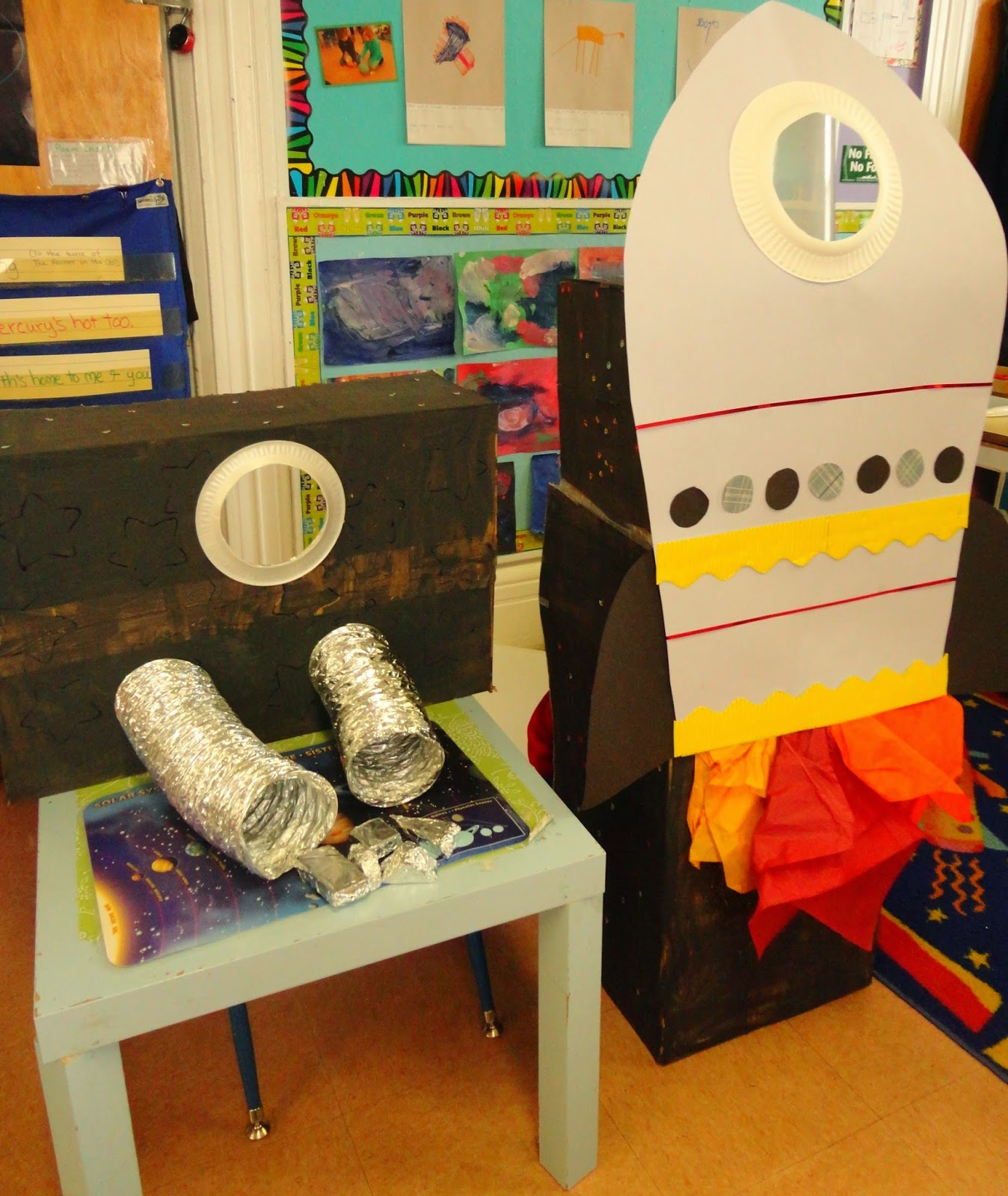 My catch a star classroom blast off for Outer space classroom decor