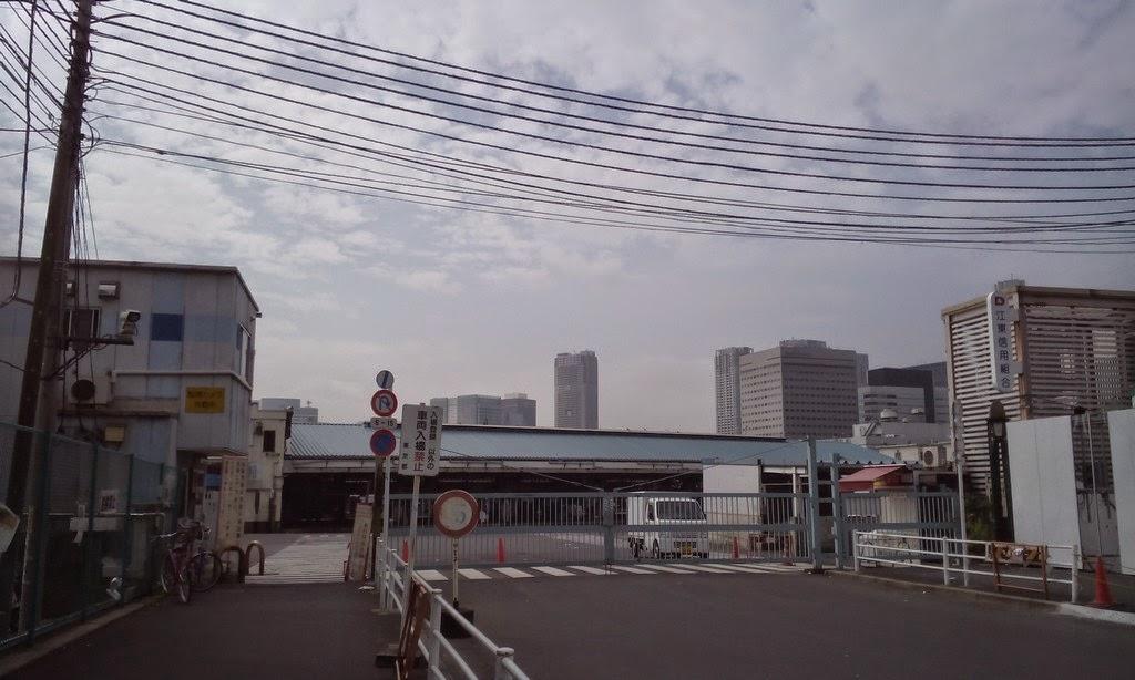 築地市場 (場內市場 / 批發區) 正門入口