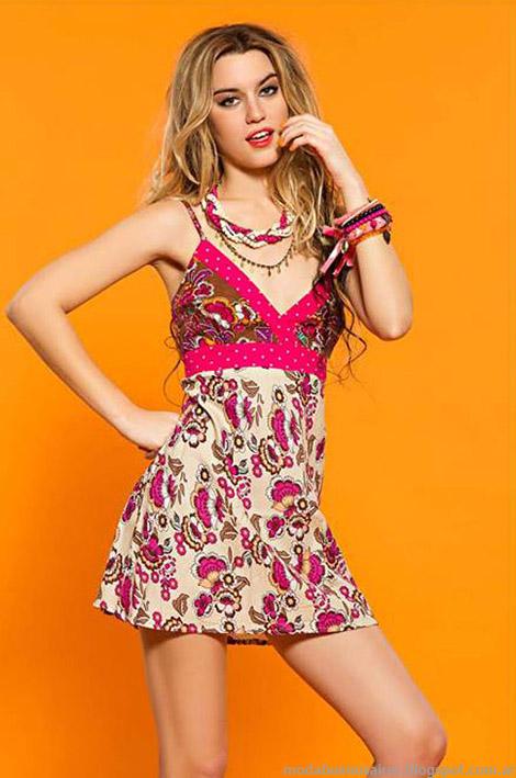Vestidos verano 2015 moda mujer tendencias 2015.
