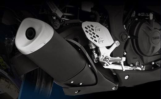 Knalpot super muffler Yamaha R25