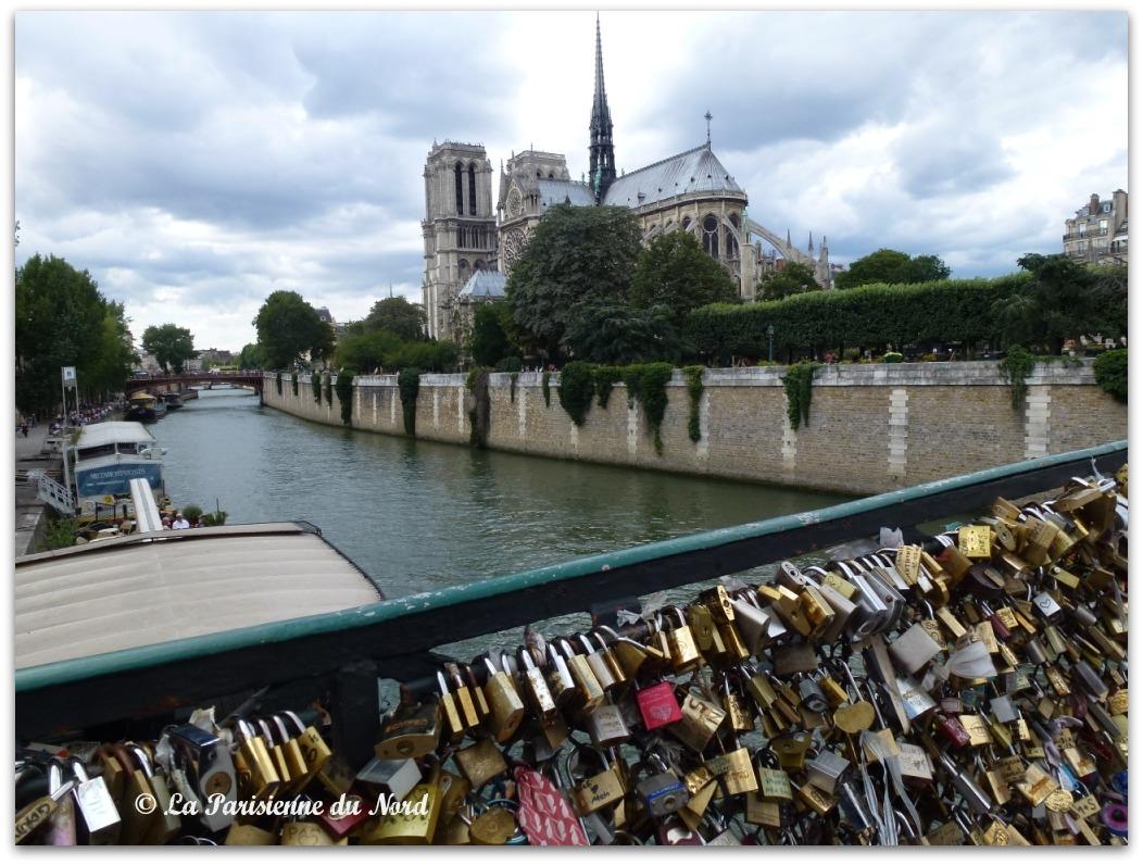 Ao t 2012 la parisienne du nord - Le pont de lamour a paris ...
