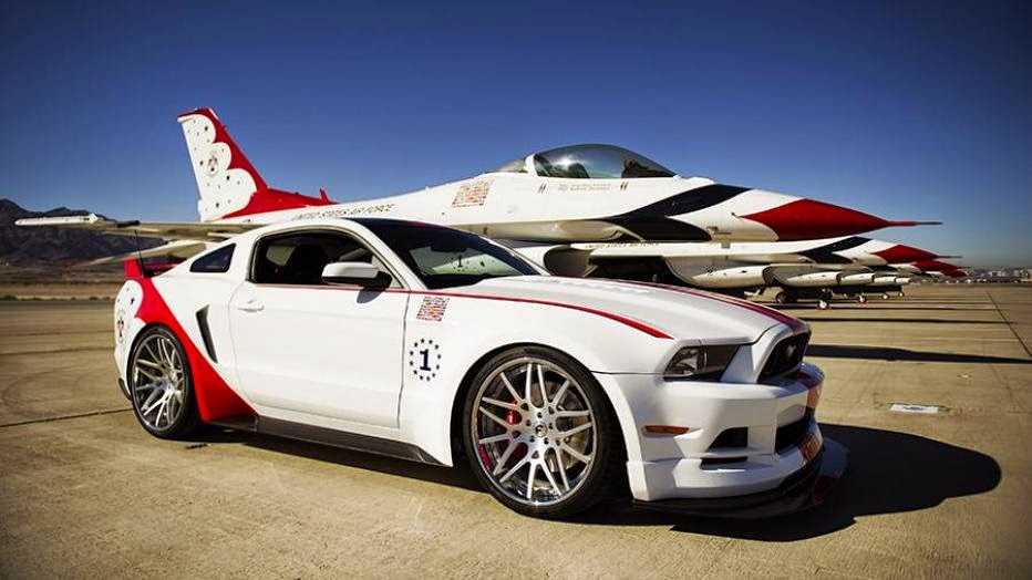 News - Unique Ford Mustang GT celebrates 60th anniversary of U.S. Air Force Thunderbirds