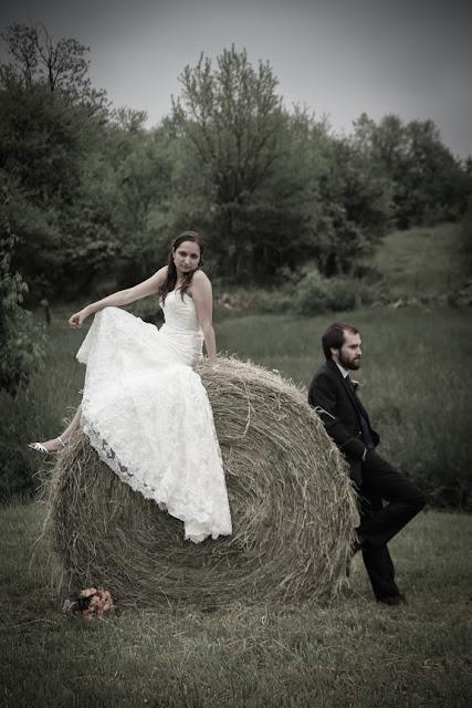 Vintage Wedding Photographer Northern VA Farm Wedding