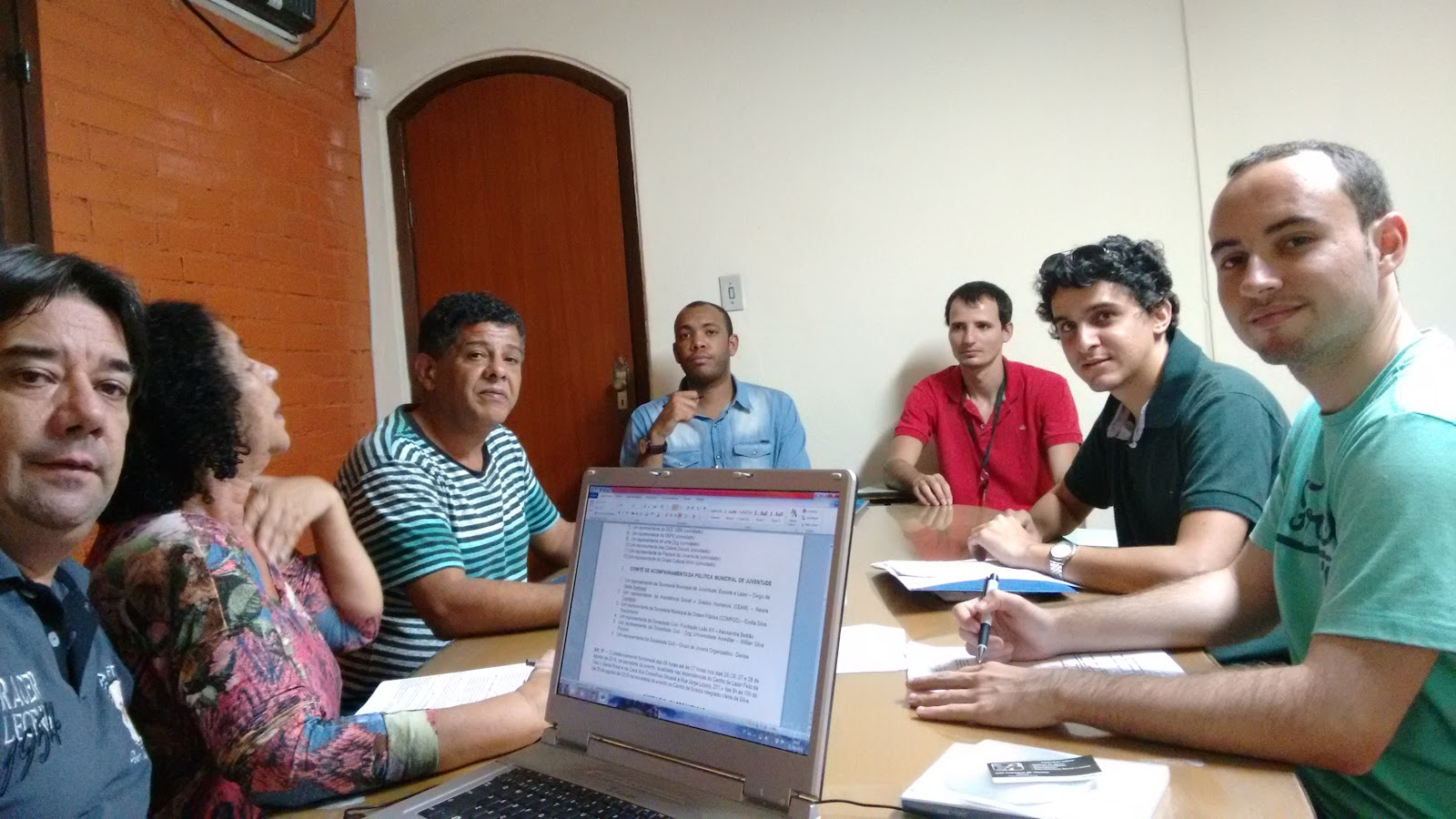 I CONFERÊNCIA MUNICIPAL DE JUVENTUDE DE BARRA MANSA/ 2015