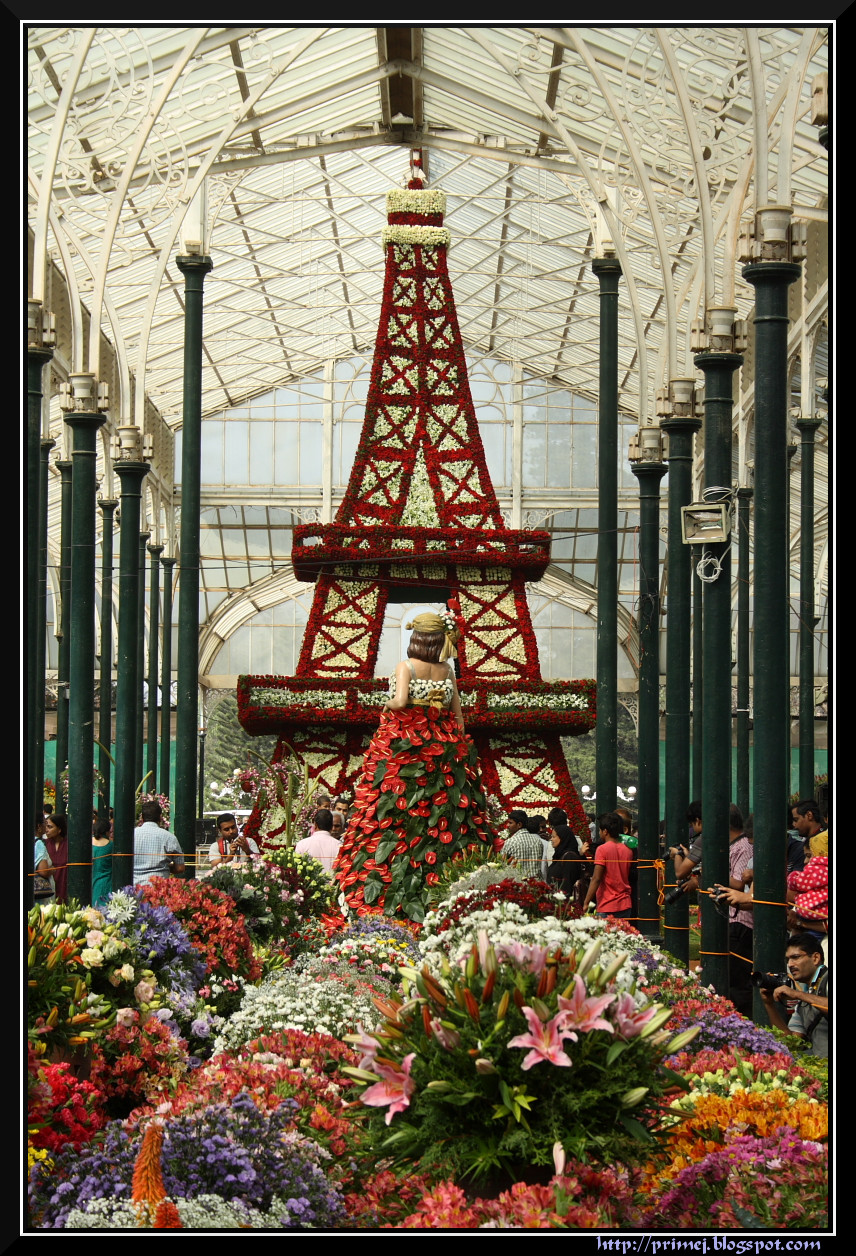 Republic Day Flower Show 2013, Lalbagh