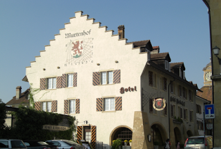 Hotel Murtenhof - Iconic building in Murten, Switzerland