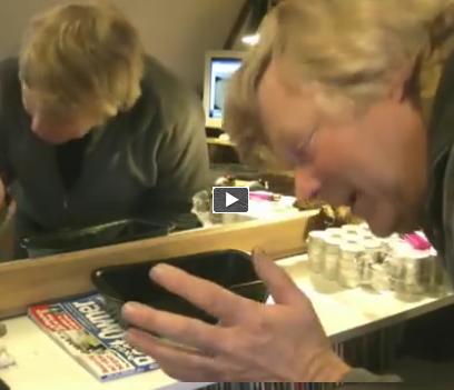 Video incredibili facebook ecco come riscaldare una for Aggiungendo una stanza al garage