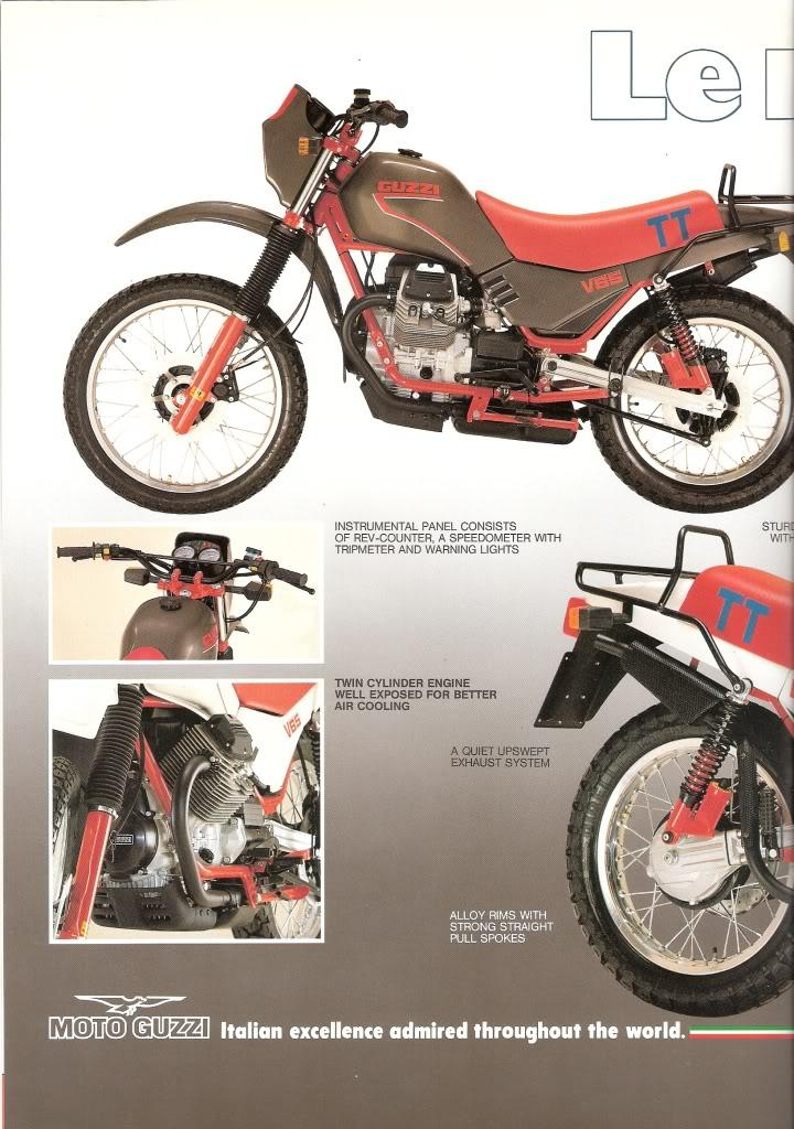 Moto Guzzi TT Motorcycle Brochure