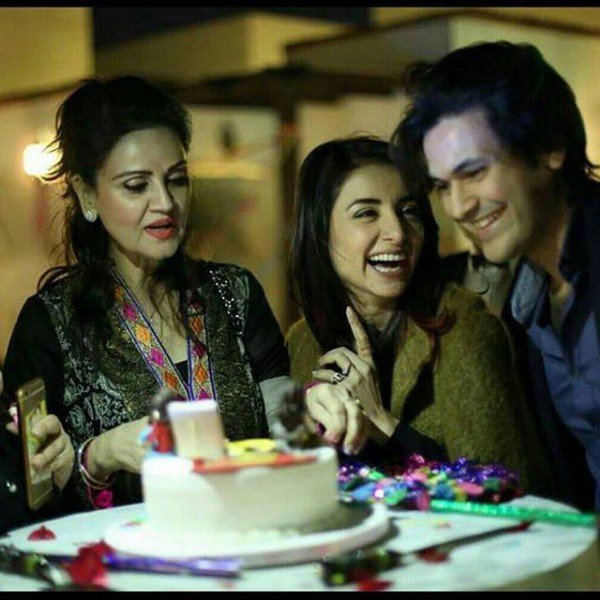 Famous Actress Sarwat Gilani Birthday Bash - Unseen Picture