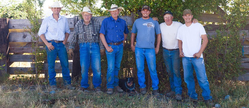 A Fifth Generation Cattle Ranch Survives...