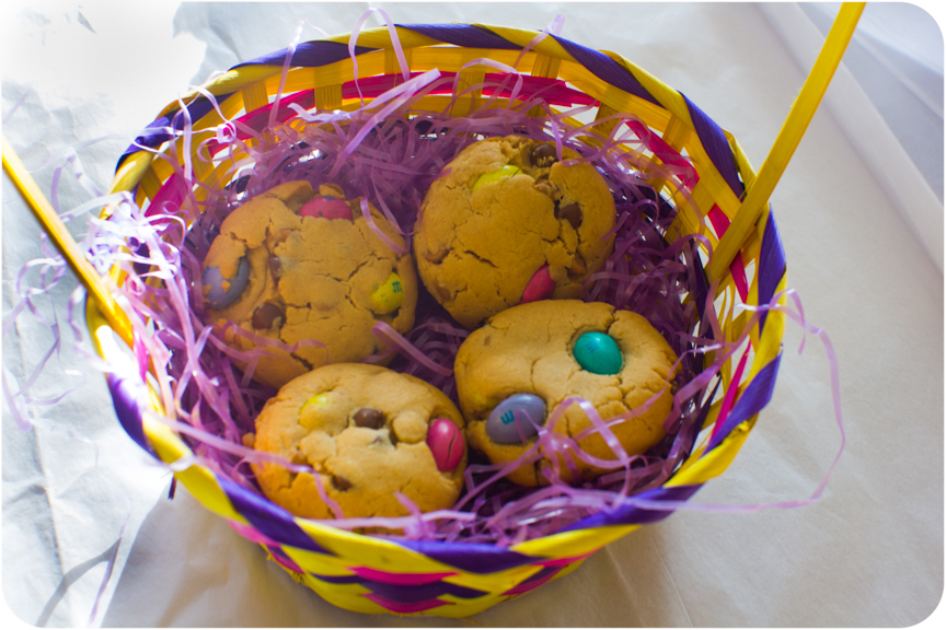 Cupcake crazy gem easter mm cookies 3 ways white chocolate i also picked up some really delicious egg shaped mms that were filled with peanut butter they were so delicious that my husband and i nearly ate the negle Image collections