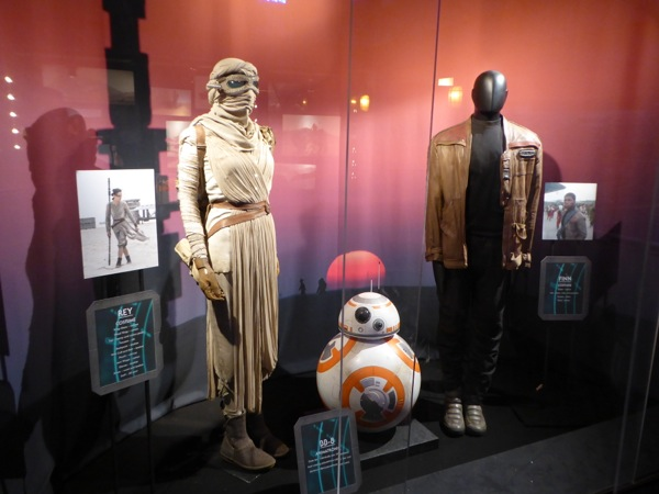 Star Wars Force Awakens movie costumes BB-8 droid