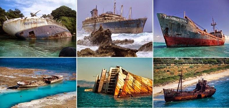 naufragios famosos