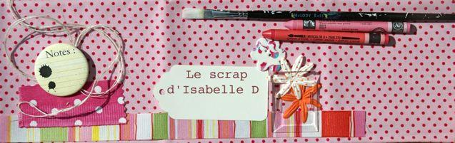 Le scrap d'Isabelle D
