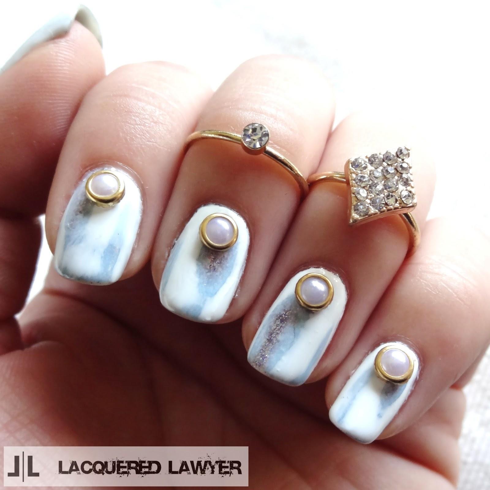 Glacier Nail Art