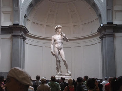 The Statue of David, Accademia Gallery, florence italy