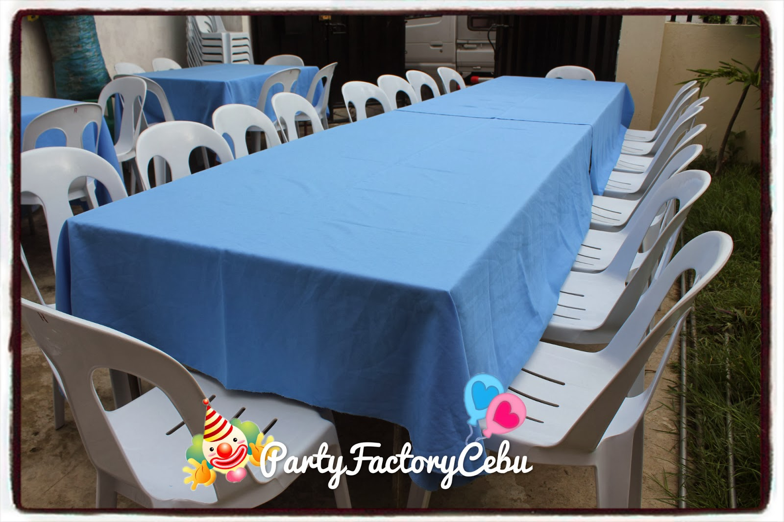 Welcome To Partyfactory Cebu Table Set Up