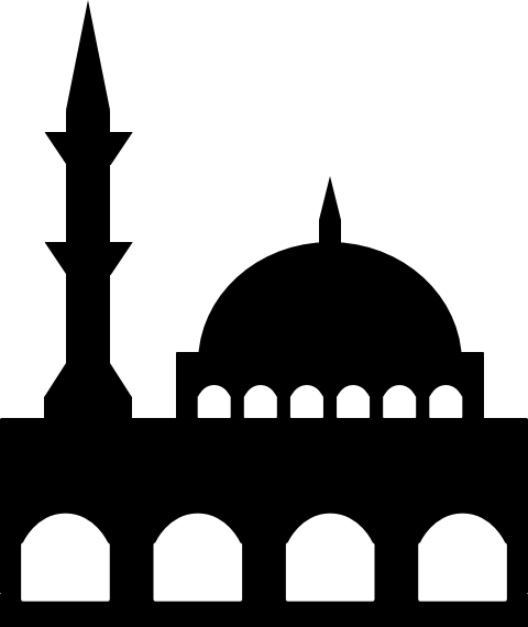 Masjid logo - Mosque logo - Surau logo