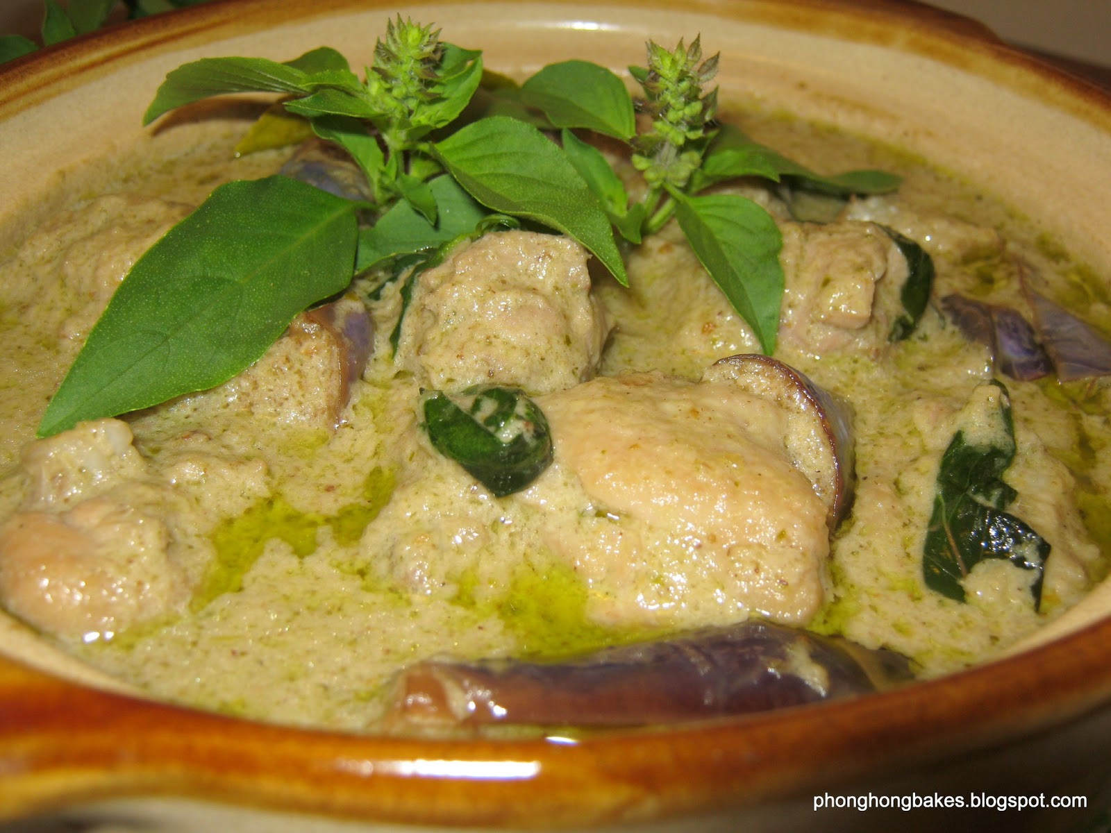 Resepi Green Curry Chicken Green Curry Chicken Opor Ayam