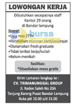 CV Tri Manunggal Group
